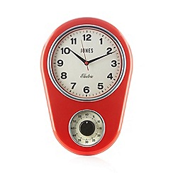 Jones - Red vintage kitchen timer clock