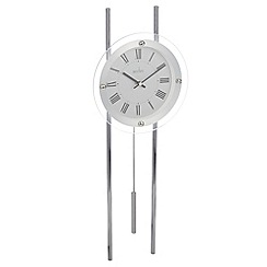 Acctim - Glass 'Adderley' pendulum wall clock