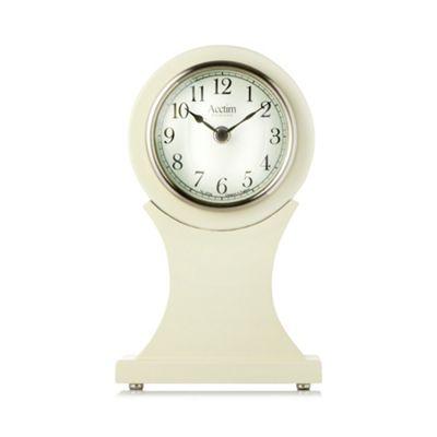 Acctim Cream mantel clock - . -