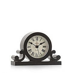 Jones - Black grand mantel alarm clock