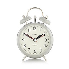 Jones - Grey mini alarm clock