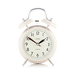 Jones - Pink medium alarm clock