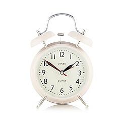 Jones - Pink medium alarm clock