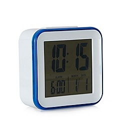 Acctim - White trim digital alarm clock