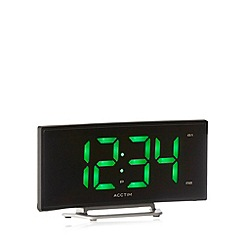 Acctim - Black LED alarm clock