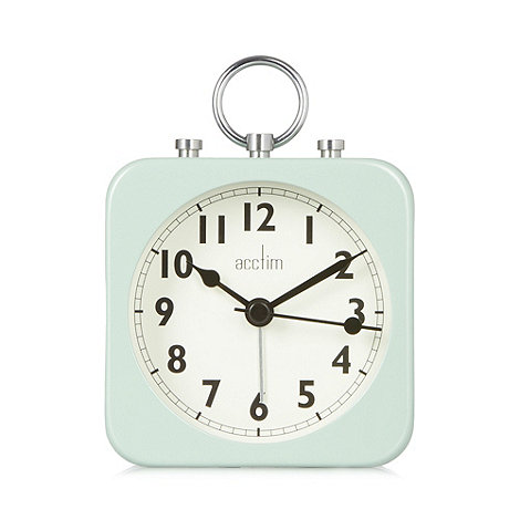 Acctim - Light green alarm clock