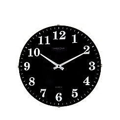 London Clock - Black wall clock