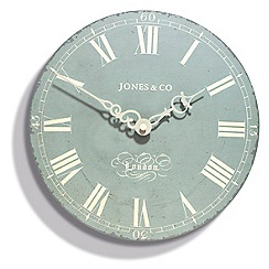 Jones - The 25cm Duck Egg Darwin Wall Clock