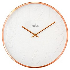 Acctim - Rostock copper wall clock
