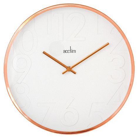 Acctim - Copper +Rostock+ wall clock