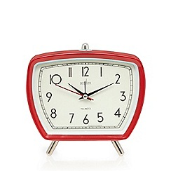 Acctim - Tolworth retro red alarm clock