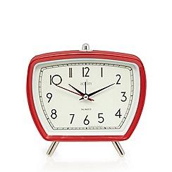 Acctim - Tolworth retro red alarm clock