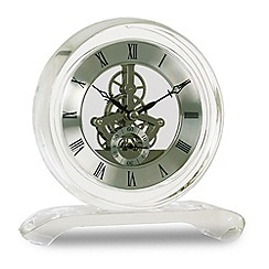 Acctim - 'Hurlingham' crystal mantle clock