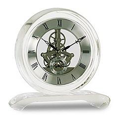 Acctim - 'Hurlingham' crystal mantle clock