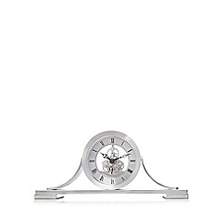 London Clock - Silver skeleton clock