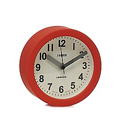Jones - Red 'Fab' wall clock