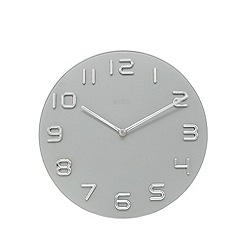Acctim - Grey 'Emmen' wall clock