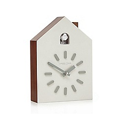 London Clock - White cuckoo clock