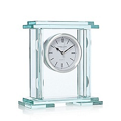 London Clock - Silver mantel clock