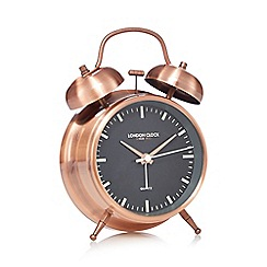 London Clock - Copper alarm clock