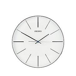 Seiko - Silver wall clock