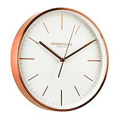 London Clock - Copper wall clock