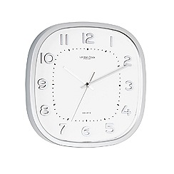 London Clock - Silver wall clock