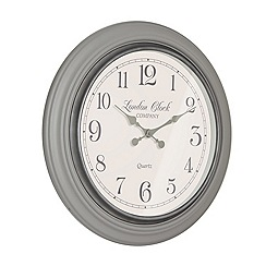 London Clock - 'Eleanor' large wall clock