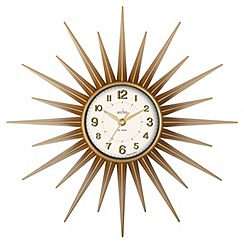 Acctim - Gold 'Stella' wall clock