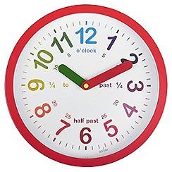 Acctim - Red 'Lulu' wall clock