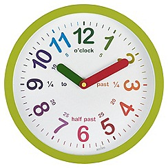 Acctim - Green 'Lulu' wall clock