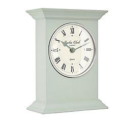 London Clock - Sage green William mantel clock