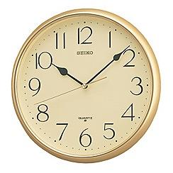 Seiko - Gold shiny wall clock