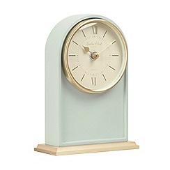 London Clock - Teal Verity mantel clock