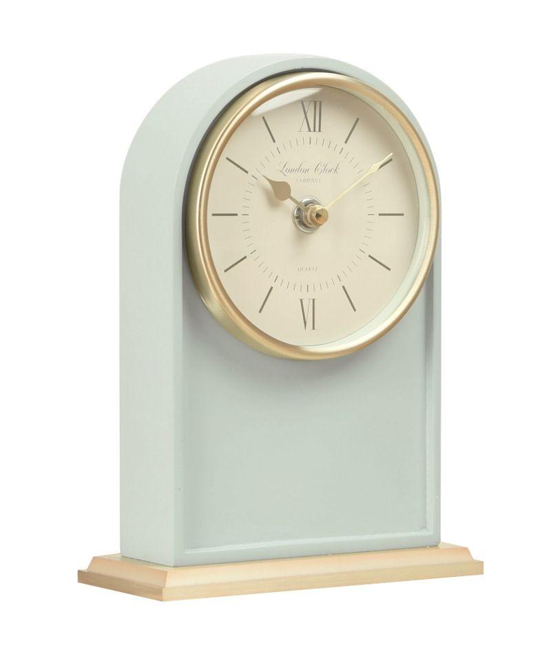London Clock Teal Verity Mantel Clock, Green