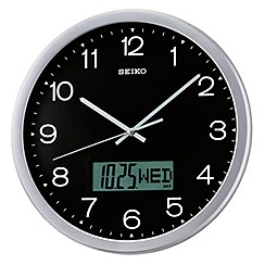 Seiko - Led date wall clock