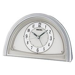 Seiko - Silver Swarovski alarm clock