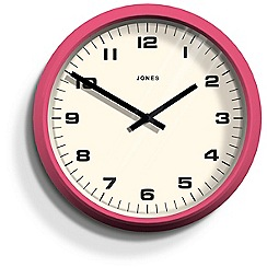 Jones - Pink 'The Monkey' wall clock