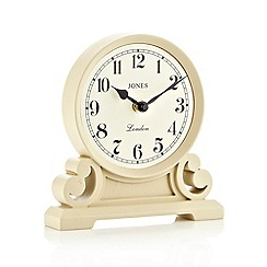 Jones - White 'Middleton' mantel clock