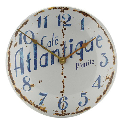 Lascelles - Cream +Cafe Atlantique+ wall clock