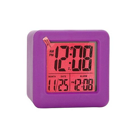 Acctim - Purple +Vanos+ LCD alarm clock