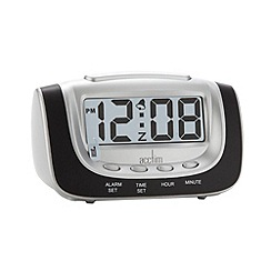 Acctim - Black night glow alarm clock
