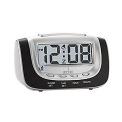Acctim - Black night glow alarm clock