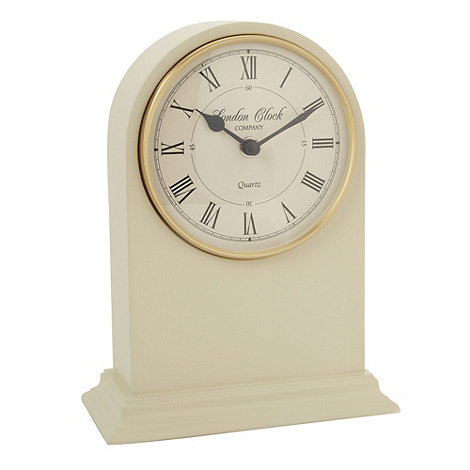 London Clock - Cream mantel clock