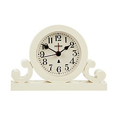 Jones - Cream mini mantel clock