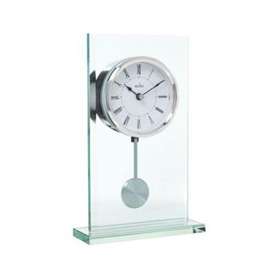 Acctim Glass pendulum mantel clock - . -