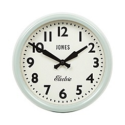 Jones - Pale green wall clock