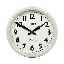 Jones - Pale green wall clock