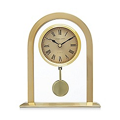 London Clock - Gold pendulum mantle clock
