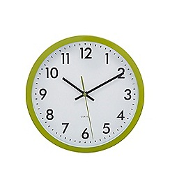 Home Collection Basics - Green 'Tilly' wall clock